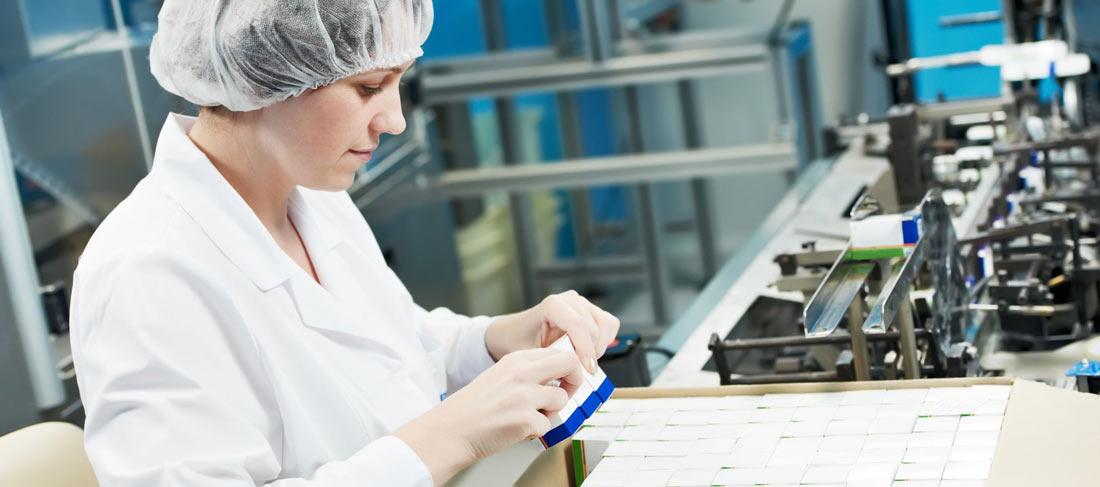 Verpackungsmaschinen für die Pharma- und Kosmetikindustrie
